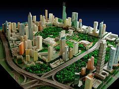 杭景建筑模型公司:哪里可以定做杭州杭景模型