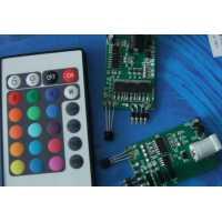 可调速LED七彩控制器控制板