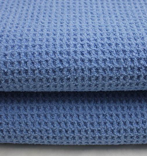 超细纤维华夫格(蓝色)