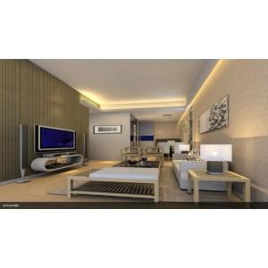 杰洛特竹木纤维生态集成墙板全屋快装电视背景吊顶护墙