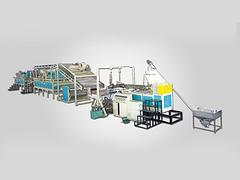 昌乐塑料地垫机械_山东好用的塑料喷丝地毯(宝丽美地垫)生产线供应