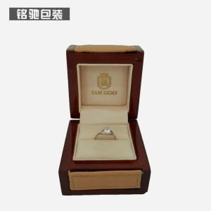厂家供应木质戒指盒,木质首饰包装盒,木质礼品包装盒