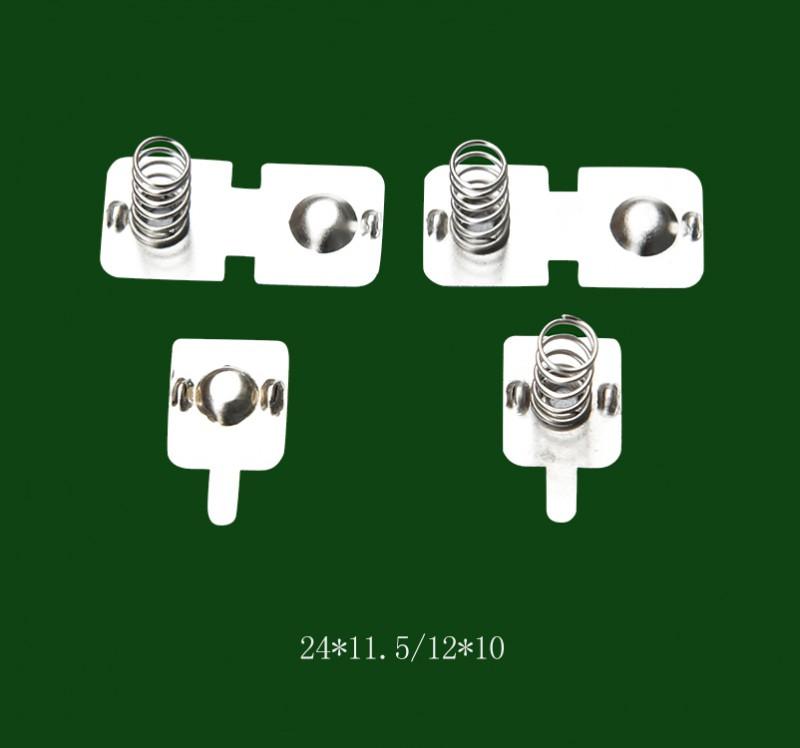 灯具弹片 电池连接片 电池弹簧片 来图来样可定制