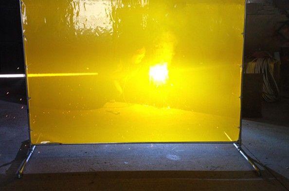 焊接防护屏 电焊遮光屏风 电焊保护软板