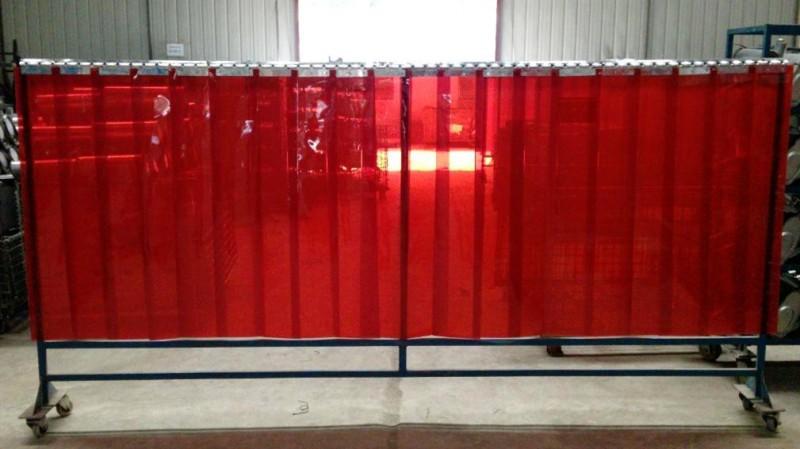 电焊遮光帘 防紫外线隔断帘 焊接防护帘 防电焊弧光帘