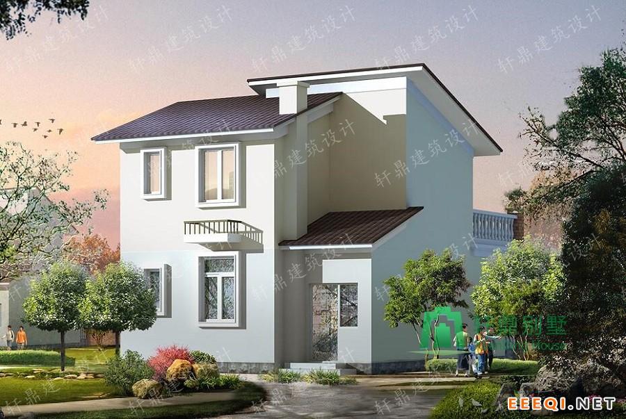 轩鼎出品 精品二层小别墅设计图,含全套施工图纸