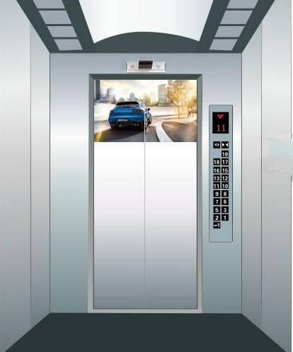 电梯广告投影仪吸顶投影仪橱窗电梯车库远程控制微型投影机