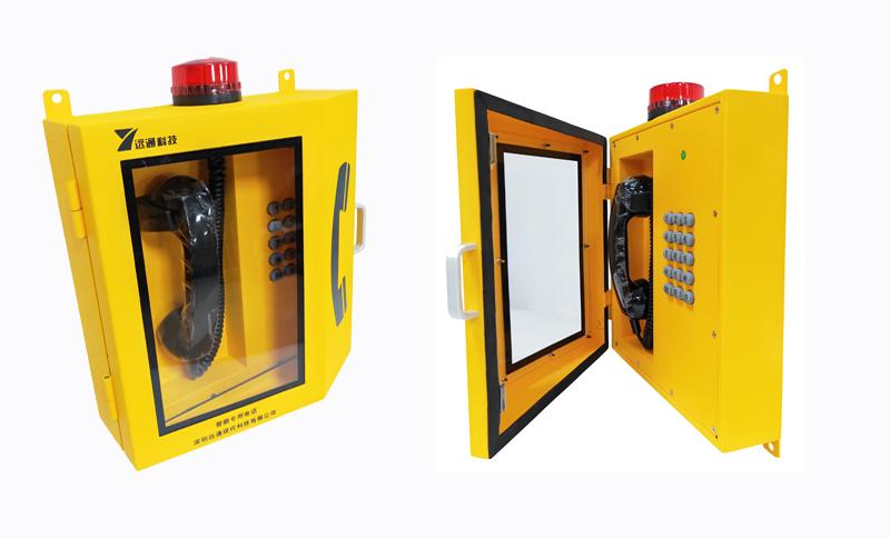 综合管廊防爆光纤电话主机 自动拨号光纤电话