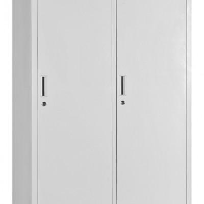钢制带锁员工宿舍储物洗浴更衣柜 铁皮简易挂衣柜定制