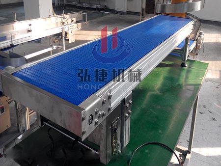 弘捷机械齿链网带输送机生产厂家