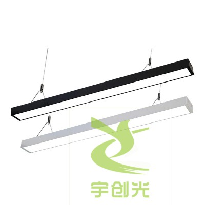 批发美食街led吊线灯防尘净化LED硬灯条有形有质无缝拼接