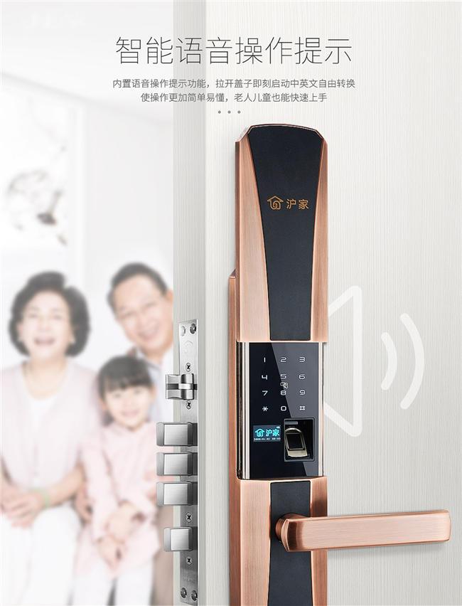 沪家M570智能防盗锁