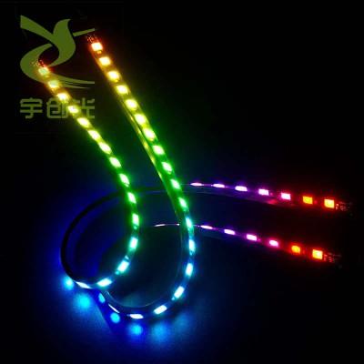 内置IC园林建筑装饰灯条1903幻彩灯带60灯套管防水LED