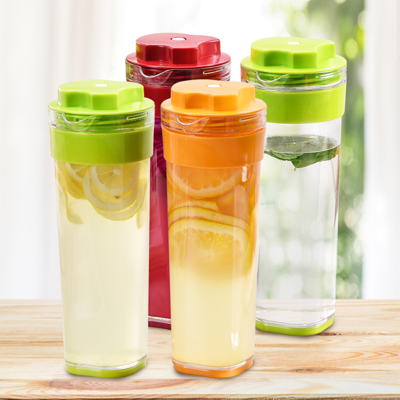 1升纤巧壶酵素果汁壶塑料水壶大容量 发酵壶酵素瓶酵妈妈