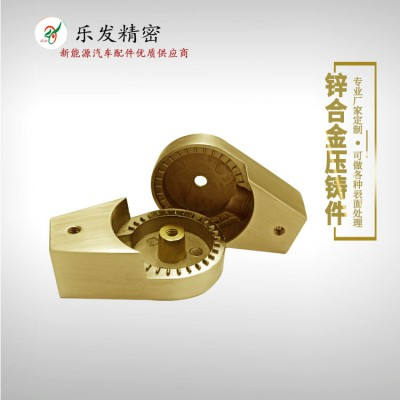 厂家直销锌合金灯具接头 机械五金加工制造 可定制
