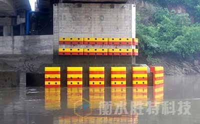 胜特 复合材料桥梁防撞设施,柔性复合材料防撞设施