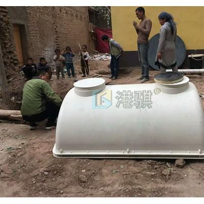 玻璃钢化粪池规格型号 蹲坑冲水桶-港骐