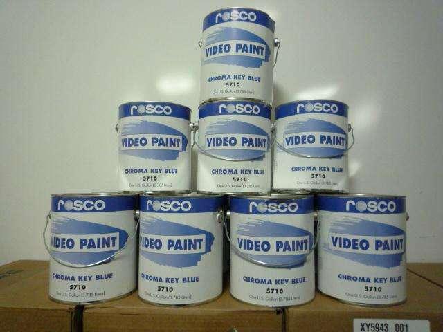 美国ROSCO影视抠像漆蓝箱绿箱乳胶漆
