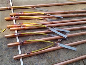 新疆常用电解离子接地极产品如何保养铜层