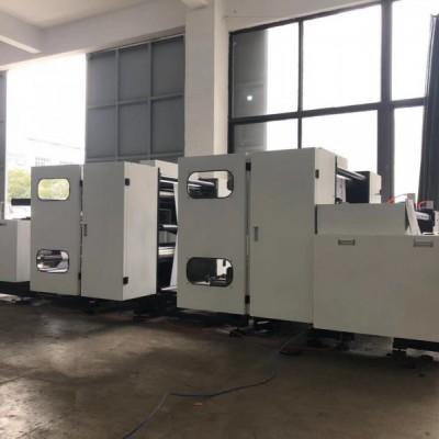 8色无轴无齿轮套筒式伺服印刷机