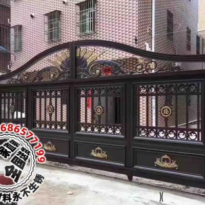 铸铝别墅专用铝艺大门