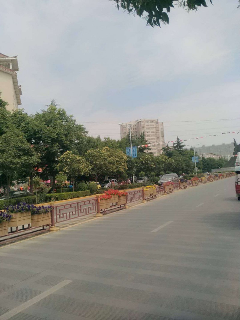 陕西城市发光护栏厂家、西安交通文化护栏定制