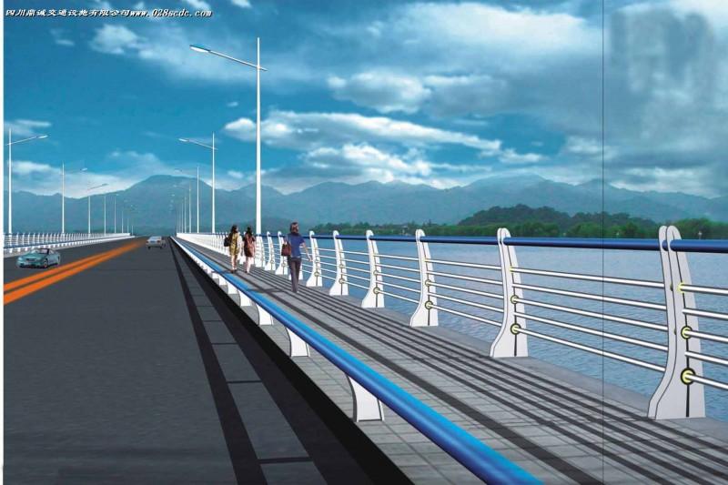 陕西桥梁发光护栏设计安装、西安桥梁景观栏杆厂家定制