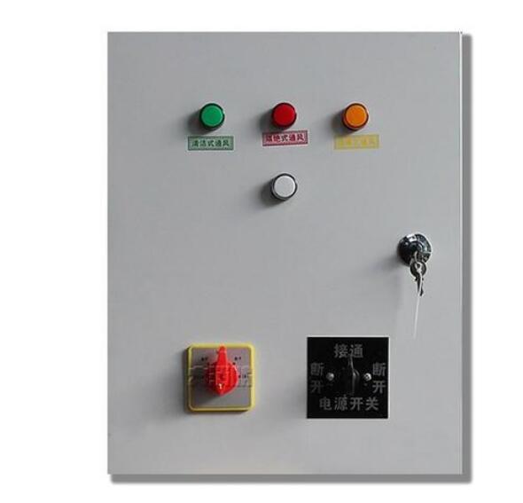 鹤壁专业制作人防通风方式信号灯箱控制箱