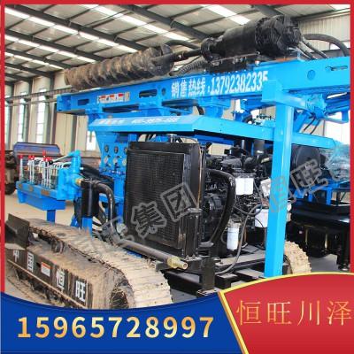 HG-300L型光伏打桩机 大型高效打桩机 履带式打桩机