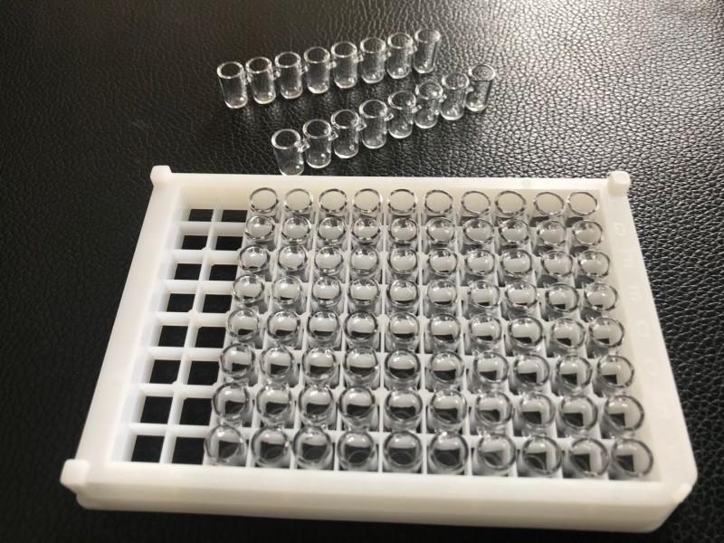 上海增友生物Y-96966石英96孔可拆酶标板全石英酶标板