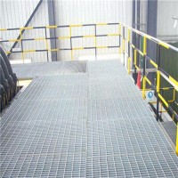 钢格板镀锌不锈钢格栅盖板平台踏步板 异形水沟盖板雨水篦子