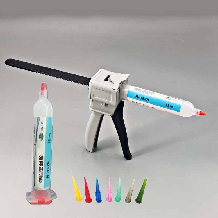 防水密封ABS塑料粘铝胶水,硅胶粘五金胶水强力胶